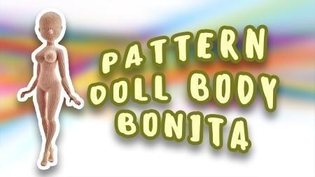 Crochet pattern Bonita doll body